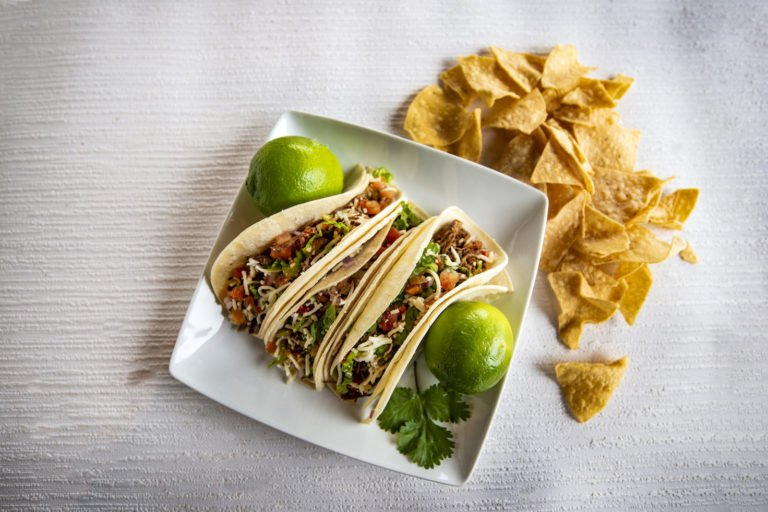 Soft Tacos with Chips