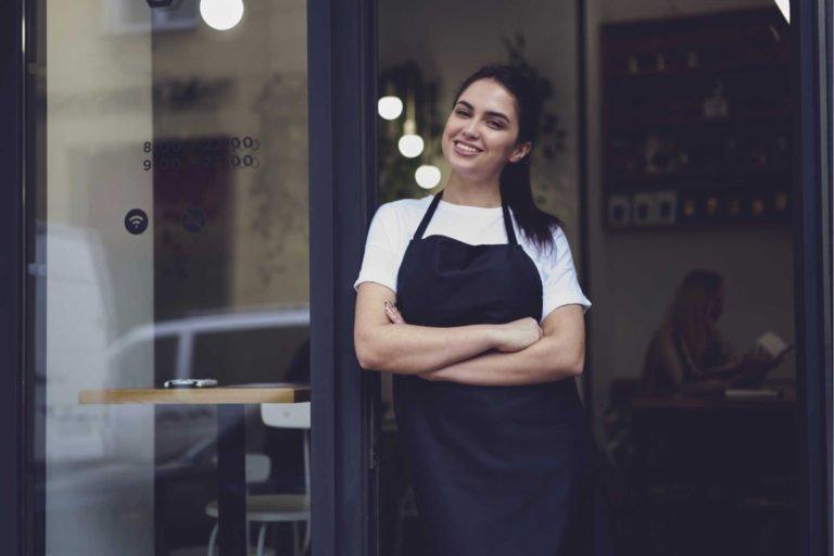Women smiling Cook