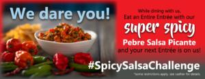 Super Spicy Salsa Challenge