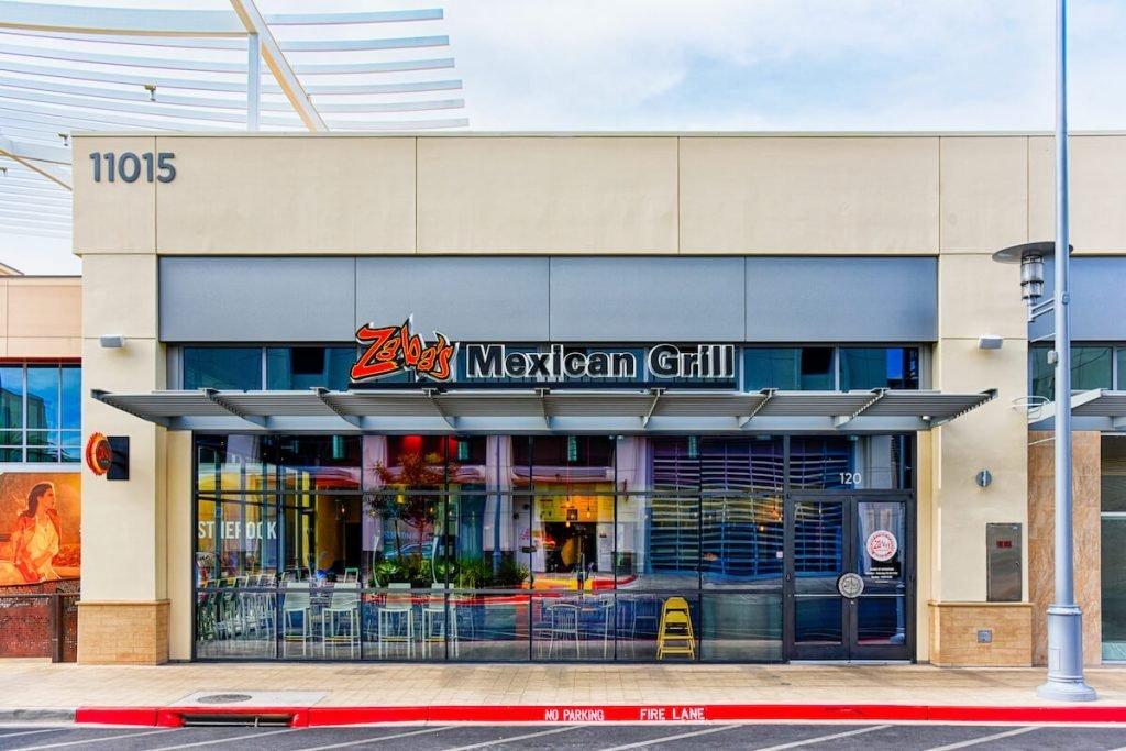 Ori'Zabas Mexican Grill Outdoors