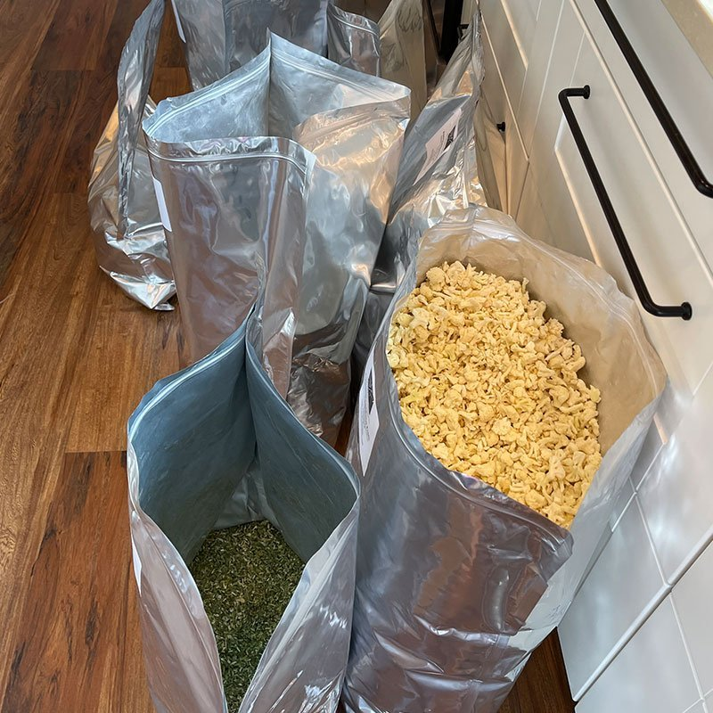 Freeze Dried Organic Food